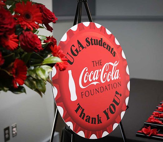 Coca-Cola Supports First Generation College Students at UGA