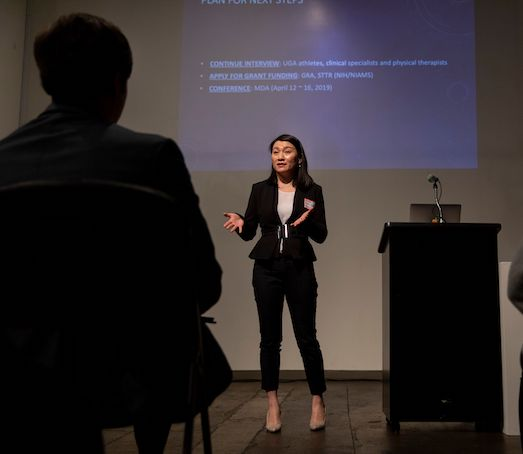 Business & Economy • Georgia Impact • Science & Technology Startup gateway generates $531M into economy May 15, 2019by Allyson Mann Amelia Yin presented her ideas about an innovative treatment for muscle strains at UGA's I-Corps in February, a National Science Foundation-funded accelerator program.